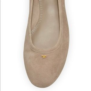 Tory Burch-Therese Suede Ballet Flats